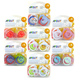 Philips Avent Translucent Silicone Soothers 6-18…