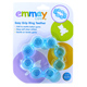Emmay Care Easy Grip Ring Teether in BLUE