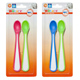 Junior Macare Soft Tip Spoons PINK & GREEN (2…