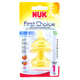 NUK First Choice Latex Wide Neck Teat Size 1 (0-6…